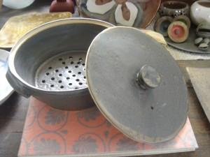 蒸し器(陶器)