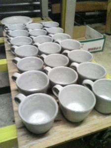 ペリカンコーヒーのカップ