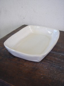 体験教室 角皿