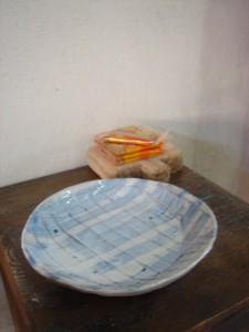 小学生が作った平皿